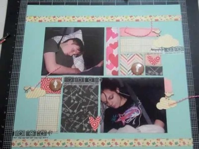 Scrapbooking Process 27: Studio Calico Front Row Kit