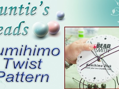 Simple Twist Pattern - Kumihimo Episode 1
