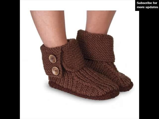 Womens Boot Slippers | Ladies Slippers