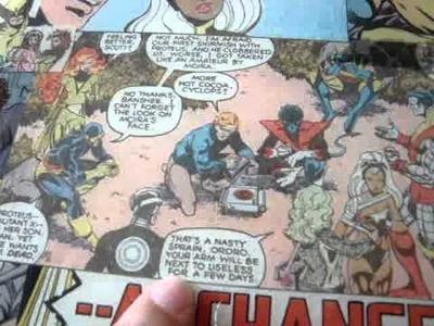 X-Men Coffee Table
