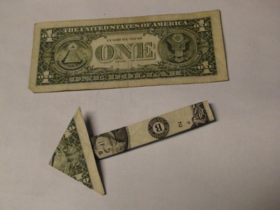 $1 One Dollar Bill Money Arrow Origami - Paper Folding Tutorial - Moneygami Hand Made Arrows Guide