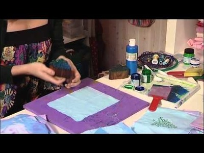 Christmas crafts - how to make Place Mats