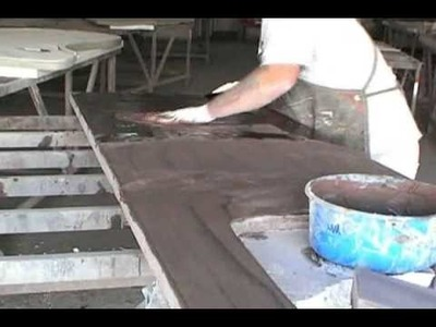 Crafting a concrete countertop, Part II