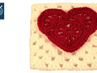 Crochet Granny Square Felicity Left Hand CrochetGeek Crochet Geek