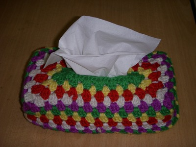 Crochet Tissue Cover Part-2