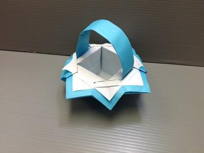 Daily Origami: 112 - Fancy Basket