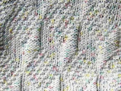 Diamond and Lozenge Dishcloth Knit Along  Part Five