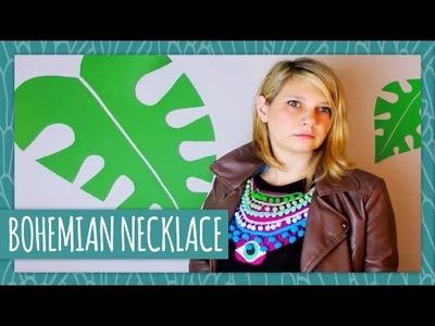 DIY Bohemian Necklace - HGTV Handmade