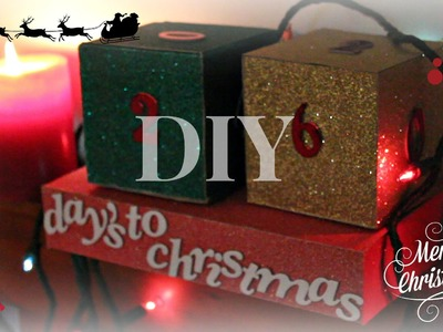 DIY: Christmas Advent Calendar Cubes