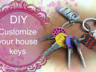 DIY Customize your house keys  ( Video Tutorial in Limba Romana HD)