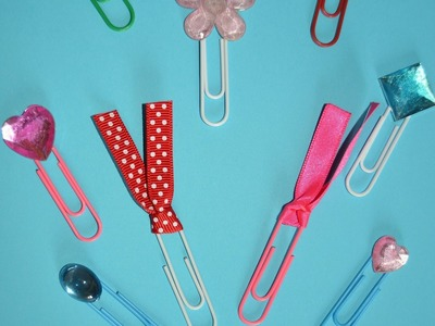 DIY Decorando Clips (DIY Fashion Paper Clips) #Back2School