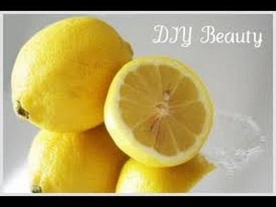 DIY Face  Brightener. Toner