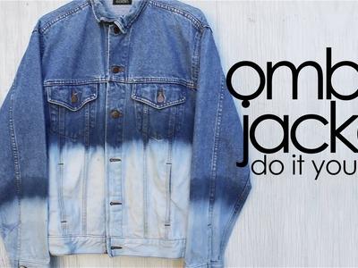 DIY: Ombré Jacket!