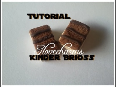 DIY:Tutorial Kinder Brioss Fimo. How to make Kinder Brioss Polymer clay