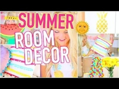 Do it Yourself : DIY Summer Room Decorations