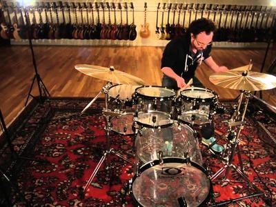Drum Craft Series 8 Acrylic Kit & Dream Cymbals