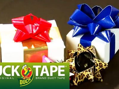 Duck Tape Crafts: How to Make a Christmas Gift Bow