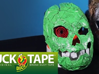 Duck Tape Crafts: How to Make a Halloween Mask