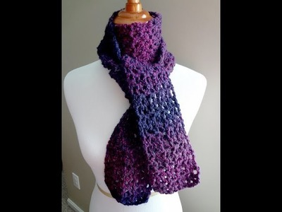Episode 10: How to Crochet the Blueberry Pie Scarf