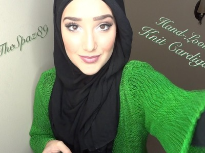 Hijabi Outfit of the Day #15: Hand-Loomed Knit Cardigan