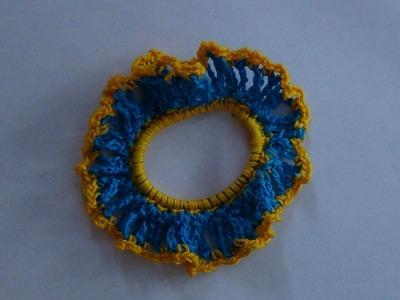 How to Crochet a Hair Scrunchy
