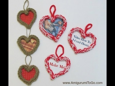 How To Crochet An I-Cord Heart