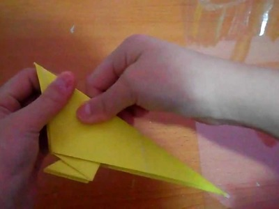 How to fold a SUPER EASY origami bluebird