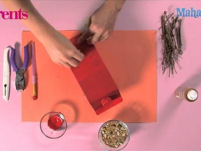 How to Make a Milk Carton Bird Feeder