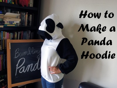 How to Make a Panda Hoodie