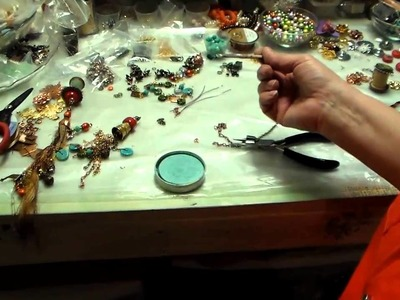 Jewelry Making Fun: Tassel Focals With Spools, Thimbles, Bead Caps From B'sue Boutiques