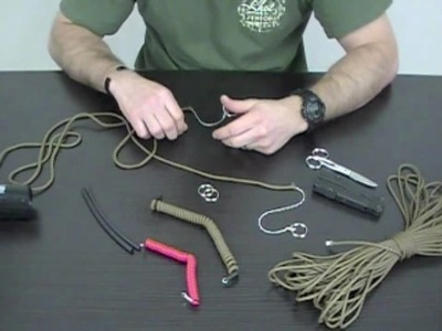 Knot of the Week - DIY Coiled Paracord Lanyard