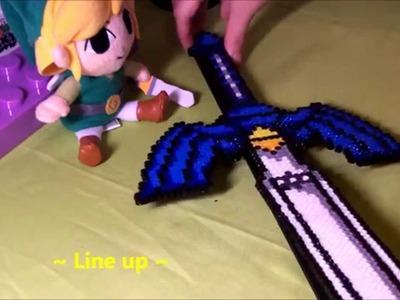 ~ Master Sword (Zelda Perler Bead) ~ 1,000 subscribers Thank you!