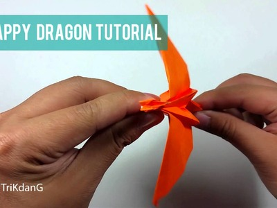 Origami In Action - Flappy Dragon