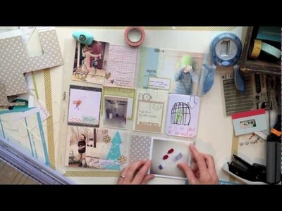 Project Life: January layout (Two Peas in a Bucket)
