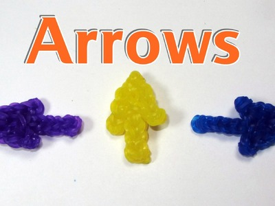Rainbow Loom Charms: ARROW: How To Design Tutorial