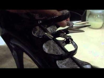 Rodate Spike Shoes DIY