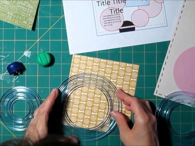 Scrapbooking Process Simple Circle Layout