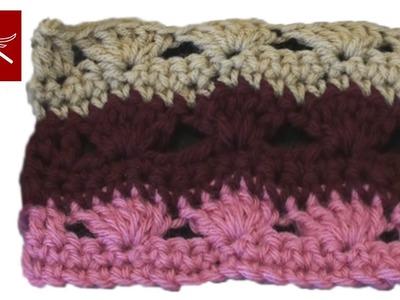 Sea Breeze Crochet Geek Stitch Baby Blanket, Shawl, Scarf