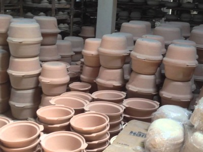 Visit to a clay pot making factory - Clay Craft Malaysia