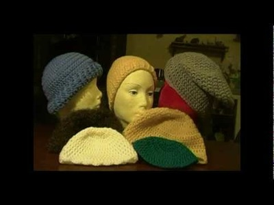 7 crochet hats Start.