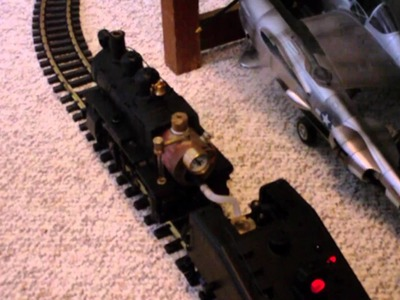 Aristo-Craft Live Steam 0-4-0 locomotive in 1:29 G scale