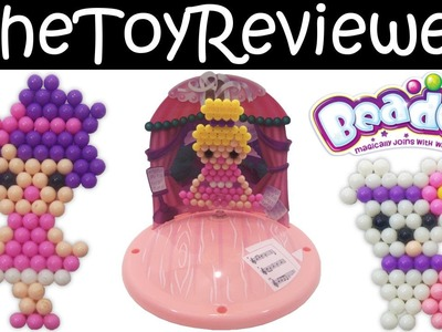 Beados Ballet Concert Themed Refill Pack Tutorial and Review by TheToyReviewer