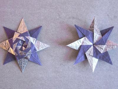 Christmas Origami Instructions: Braided Star (Maria Sinayskaya)