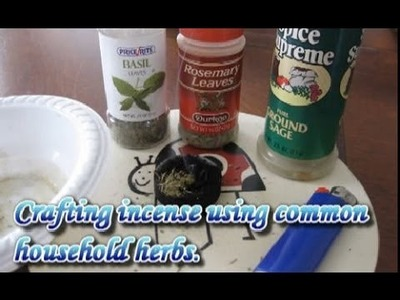 Crafting Incense With Household Herbs