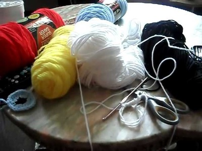 Crochet: Beginning My 1st Character Hat