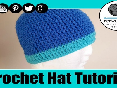 Crochet Chunky Hat Tutorial
