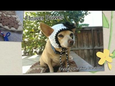 Crochet Dog Hats