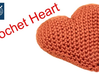 Crochet Heart How to Make Left hand Crochet Geek