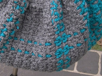 Crochet OVW Tartan FBB Tutorial - Easy Part 3 of 3