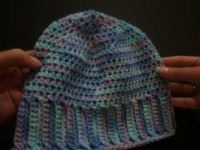 Crochet The Backwards Hat